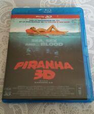 PIRANHA 3D (2010 DVD-HD BLU-RAY DISC)