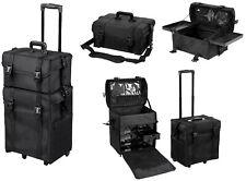 Professional Makeup Artist Carry Case Cosmetic Trolley Nylon Organizer Bag Box