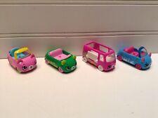 Shopkins Diecast Metal Cuties Cars Lot Set Of 4