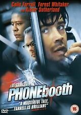 Phone Booth Colin Farrell, Kiefer Sutherland, Forest Whitaker, Radha NEW R2 DVD