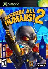 Destroy All Humans 2 - Original Xbox Game