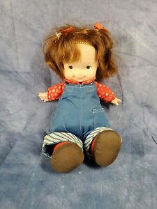 Fisher Price Audrey Lapsitter Doll 1973, vintage toys. Collector toys/dolls