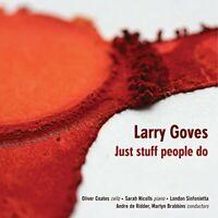 Oliver Coates - Larry Goves: Just Stuff People Do [CD]