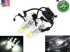 2x For MAZDA H7 Low Beam Headlight Bulbs High Power COB LED 120W  7600lm white