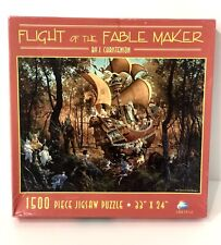 "SunsOut Flight of the Fable Maker Jigsaw Puzzle 1500 Pieces CN67512 33""X24"