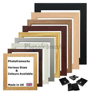 Picture Frame Photo Frame Poster Size Frame Black Oak White Walnut Dark Oak