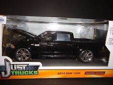Jada Dodge Ram 1500 2014 Custom Version Black 1/24