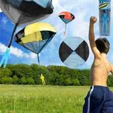 5pcs giocattolo con paracadute aquilone giochi all'aperto gioco