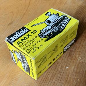 Vintage Solido No. 223 ⚙️AMX 13⚙️  ~In Original Box~