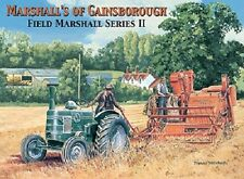 Retro Mini Metal Vintage Marshall Tractor Advert Hang Decoration Sign 6.5x9cm