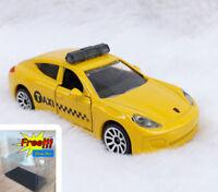 Majorette Porsche Panamera Taxi Yellow 1/64 209B no Package Free Display Box