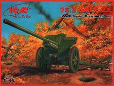 ICM 1/35 76.2mm F-22 Soviet Divisional Gun # 35702
