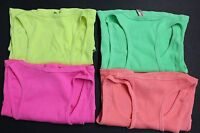 4 Womens Tank Top 100% Cotton Heavy Weight Ribbed A-Shirt Basic Workout S M L XL