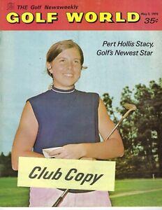 1970 5/5 Golf World Newsweekly magazine, Hollis Stacy VG