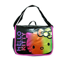 Hello Kitty Cross body Messenger Bag School campus Book bag NEW