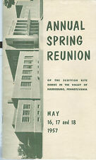 Annual Spring Reunion of the Scottish Rite Bodies--Author Unknown--1957
