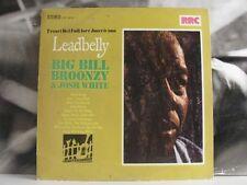 TESORI DEL FOLKLORE AMERICANO - LEADBELLY / BIG BILL BROONZY / JOSH WHITE LP