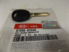 GENUINE KIA CARNIVAL & GRAND CARNIVAL 3 & 5 & 6 BUTTON BLANKING IMMOBILIZER KEY