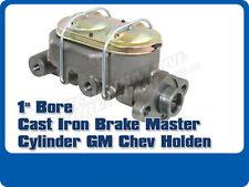 "CAST IRON BRAKE MASTER CYLINDER 1"" BORE O.E. STYLE GM CHEV HOLDEN CORVETTE"