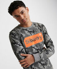 Superdry Mens Core Logo Tag Long Sleeved T-Shirt