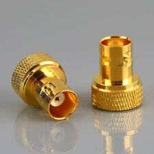 2X Gold Plated SMA Male Jack to BNC Female plug RF Adapter RF Connector