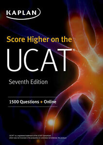 Score Higher on the UCAT: 1500 Questions + Online by Kaplan Test Prep (English)