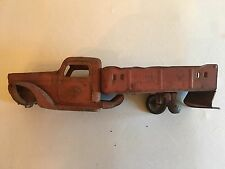 1920's Buddy L Pressed Steel Ladder Truck /Needs Restoration Or For Parts Only