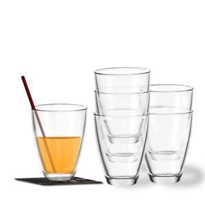 Montana Set/6 Saftbecher Today, Wasserglas Gläser Saftglas Gläserset Trinkglas