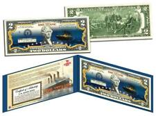 TITANIC Ship 100th Anniversary Official $2 Bill FAMOUS NIGHTTIME ICEBERG VERSION