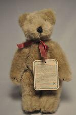 Boyds Bears & Friends: Vintage Bear - Purple Ribbon - 8 Inch Bearwear