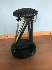 mechanics stool made from up cycled bicycle components
