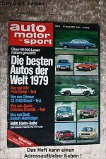 AMS Auto Motor Sport 3/79 Toyota Landcruiser Ford Bronco Kawa Z 1300
