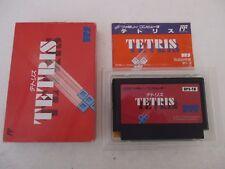 TETRIS - NINTENDO FAMICOM - Jeu NES NTSC Jap Complet