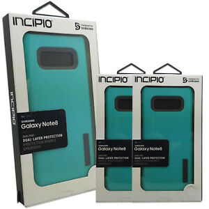 INCIPIO Dual Pro Dual-Layer Protection Shockproof Case for Galaxy Note 8 - Blue