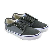 VANS off The Wall Chukka Low Pro Two Tone Gunmetal Gray Blue Mens 6.5 Shoes  Sk8 4f00bbf43