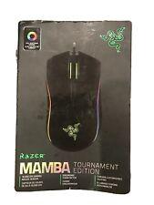 RAZER MAMBA TOURNAMENT EDITION Ergonomic Form Factor Esports Gaming Mouse