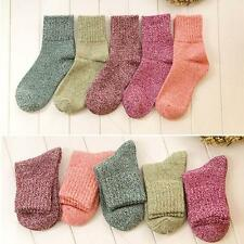 New 5 Lot pairs lady Women Comfort ANGORA Rabbit WOOL Socks Soft Warm #B Fashion