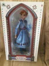 "DISNEY STORE LIMITED EDITION ANNA Olafs Frozen Adventure 17"" Doll New!"