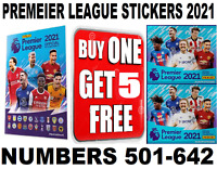 Panini FOOTBALL Premier League Sticker Collection 2021  #501+  BUY 1 GET 5 FREE!