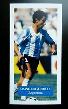 ARGENTINA - TOTTENHAM HOTSPUR - OSSIE ARDILES - Score UK football trade card