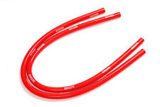 FLETCHER CLASSIC MINI SILICONE HEATER HOSES PIPES 1959-1992 RED PAIR Y3266R
