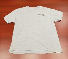 Salt Life Hook Line & Sinker Men's Pocket T-shirt - XXL