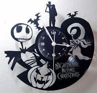 OROLOGIO DA PARETE ARTIGIANALE - DISCO VINILE - NIGHTMARE BEFORE CHRISTMAS #3
