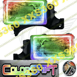 ORACLE Halo HEADLIGHTS for Dodge Ram 94-02 COLORSHIFT LED 1.0