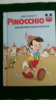 Walt Disney's Pinocchio Book Club Edition 1973