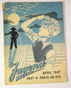 Juventud Abril 1947 Hannover Británico Zone ! (H9