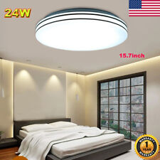24W LED Ceiling Down Light Round Flush Mount Fixture Home Bedroom Kitchen Lamp