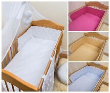 COT BUMPER 3 Sided Protector Fits All Baby Cots CotBed