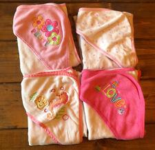 Baby Girl Bath Towels