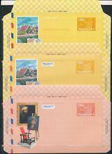 Luchtpostbladen 35 t/m 40 - 1997 t/m 2001 - Blanco (CW = € 7,70) - 2 scans
